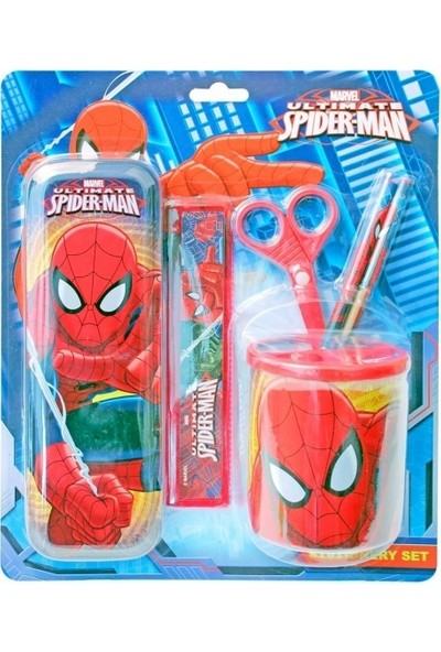 Spider-Man Lisanslı Kırtasiye Seti SM-3887