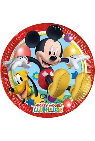 Mickey Playful Kağıt Tabak 23cm