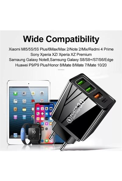 Uslıon 36W Pd 20W Hızlı Şarj 4.0 3.0 USB Şarj Cihazı