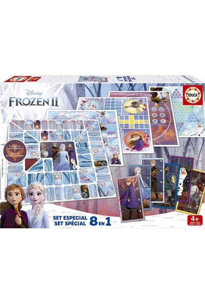 Educa Frozen2 Eğitici Oyun Seti 8 In 1 18379