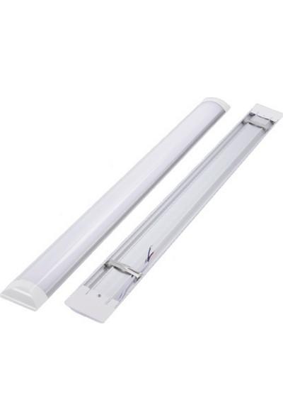 Ristar 120 cm Yatay 40 Watt LED Bant Armatür 6500K - Beyaz Işık