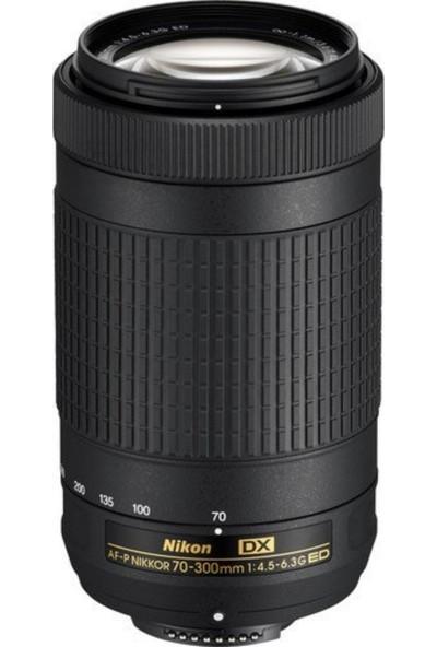 Nikon Af-P Dx Nikkor 70-300 mm F/4.5-6.3g Ed Vr Dslr Lens