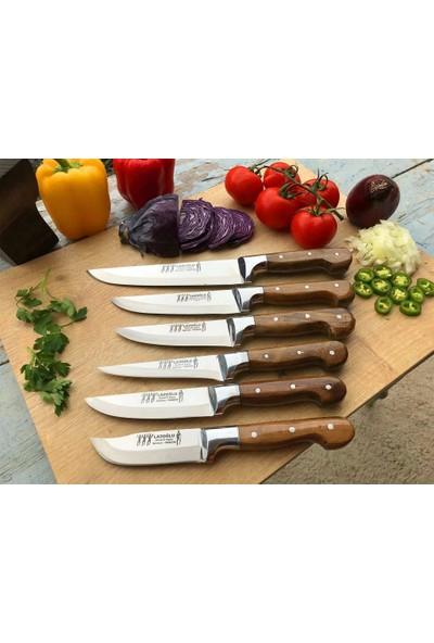 Lazoğlu Lazoğlu Sürmene 6 Lı Mutfak Bıçak Seti