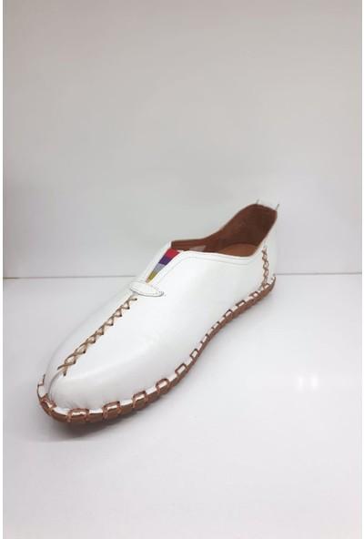 Messimod H19Y2901 Bayan Deri Comfort Günlük Ayakkabı