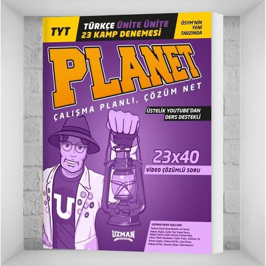 Uzman Yayınları TYT Türkçe Ünite Ünite Planet Kamp 11 Deneme Ekitap İndir | PDF | ePub | Mobi