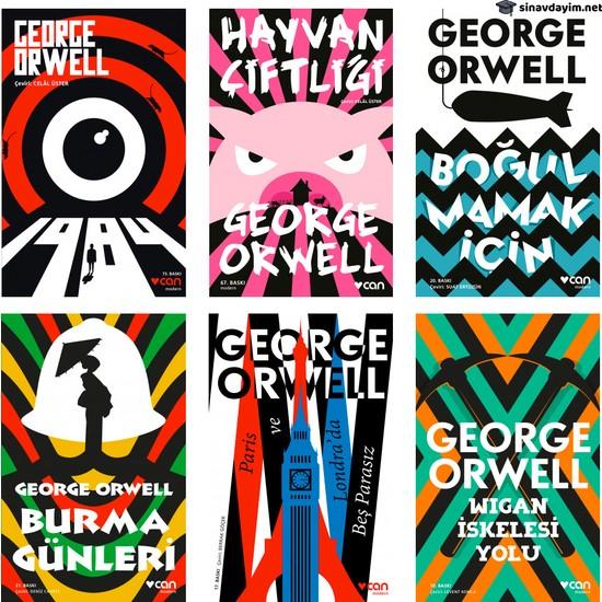 Can Yayınları George Orwell Kitap Seti 6 Roman Ekitap İndir | PDF | ePub | Mobi