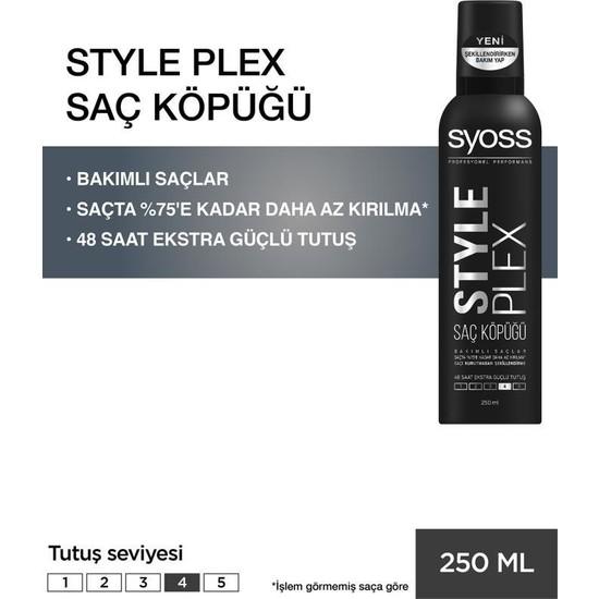 Syoss Style Plex Köpük