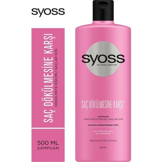 Syoss Şampuan Saç Dökülmesine Karşı 500 ml
