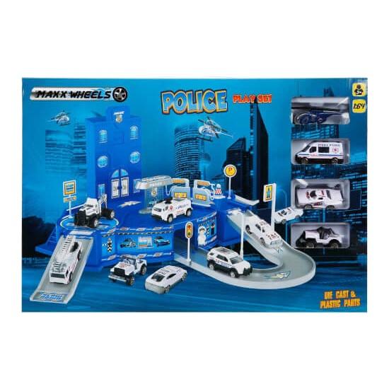 Maxx Wheels Polis Garaj Seti S00018510