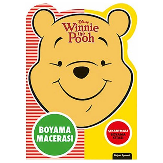 Disney Winnie The Pooh Özel Kesimli Boyama Macerası