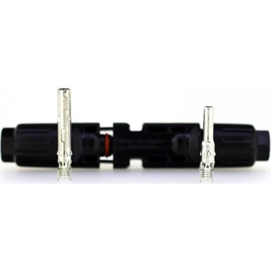 Maywah 10 Metre 6 mm (5 Kırmızı+5 Siyah) Konnektörlü Solar Kablo Seti