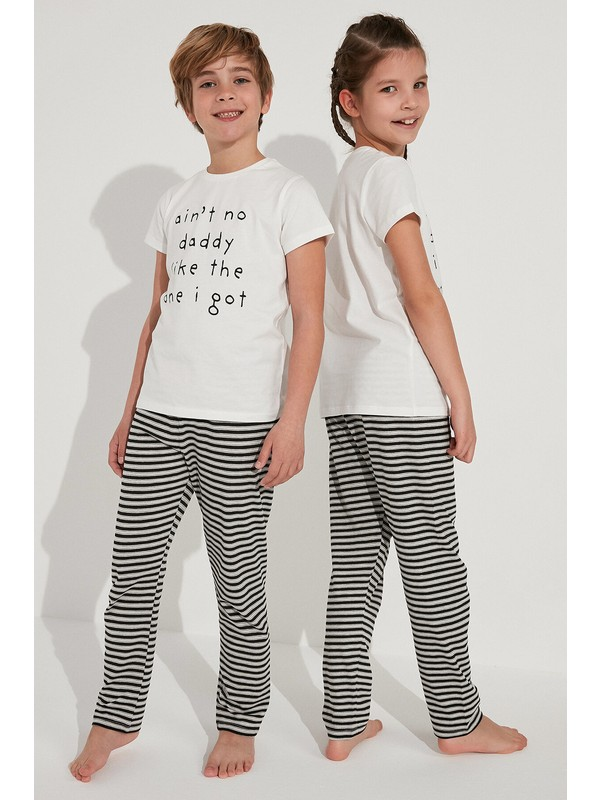 Penti Çok Renkli Unisex Daddy 2li Pijama Takımı