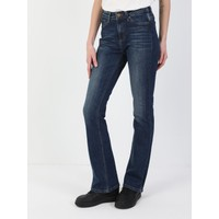 Colins 791 MONICA Orta Bel Rahat Paça Regular Fit Koyu Mavi Kadın Jean Pantolon