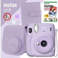 Instax Mini 11 Lila Fotoğraf Makinesi ve Kare Albümlü Seti 11