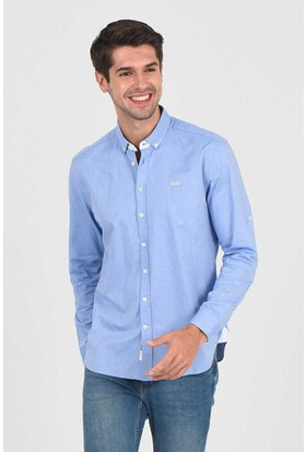 Jackson Mavi Oxford Erkek Gömlek