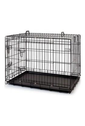 Savic Savıc Katlanabilir Tel Kafes - Siyah – 61 cm