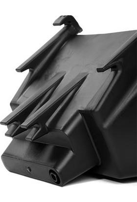 Ekoplas Dikey Bahçe Saksısı Kancalı Siyah 10 Adet