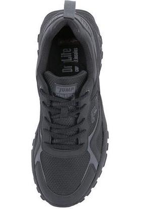 Jump 25519 Siyah Erkek Spor Ayakkabı
