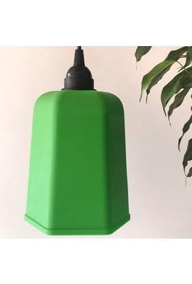 Marketcik Yeşil Renk Park Bahçe Ağaç Feneri Işığı