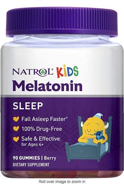 Natrol Melatonın Gummıes 1 Mg 90 Tablets