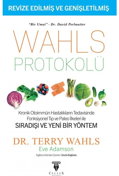 Celsus Kitabevi Wahls Protokolü Kronik Otoimmün Hastalıkların Tedavisinde Fonksiyonel Tıp - Terry Wahls