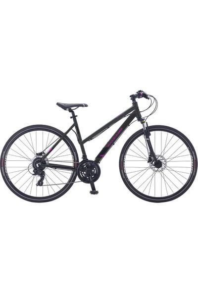 Salcano City Life 21S Hd 16 Kadro Hidrolik Fren Kadın Şehir Bisikleti (160CM Üstü Boy)