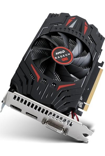 Turbox AMD Radeon RX550 4GB 128Bit GDDR5 PCI-Express 3.0 Ekran Kartı