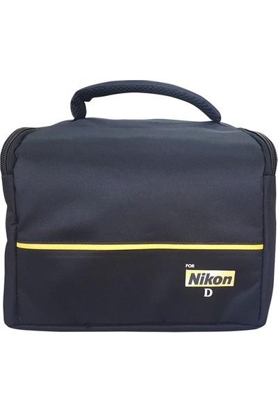 Pdx Nikon Dslr Fotoğraf Makinesi Için Kare Set Çanta Yeni Model