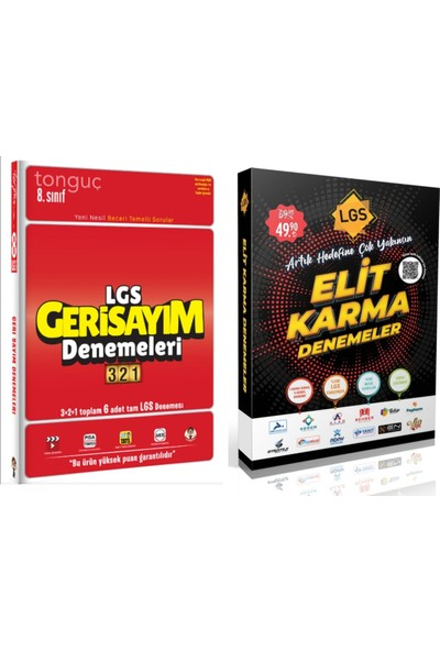 Tonguç Akademi Yayınları 8.sınıf Lgs Geri Sayım 321 Deneme + Elit Karma Deneme