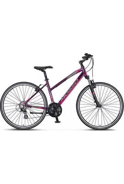 Mosso Legarda 28 2121 41 V Bayan Şehir Bisikleti Mürdüm-Pembe