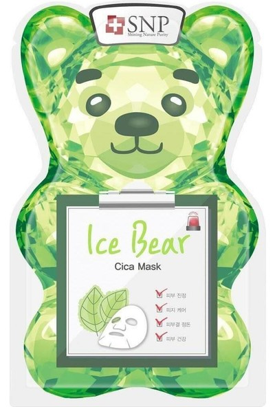 Snp Ice Bear Cica Maske 33 ml