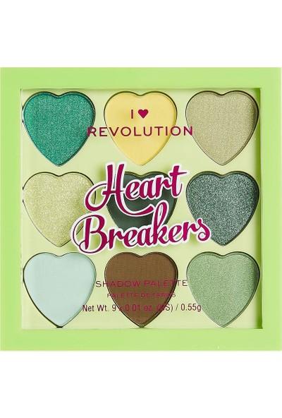 I Heart Revolution Heartbreakers Far Paleti Lucky