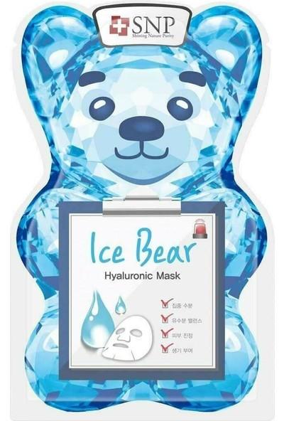 Snp Ice Bear Hyaluronic Maske 33 ml