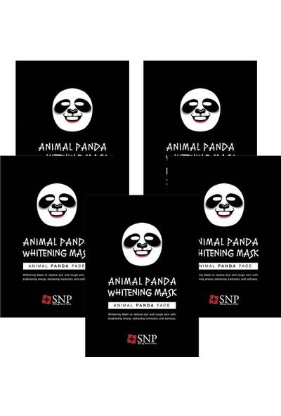 Snp Animal Panda Beyazlatıcı Maske 25 ml 5li Set