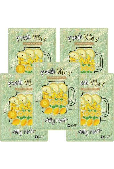 Snp Fresh Vita C Jelly Maske 33ML 5li Set