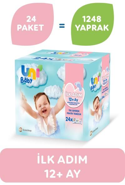 Uni Baby Ilk Adım Islak Mendil 24'lü 1248 Yaprak