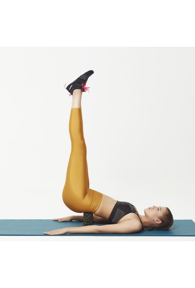 Actifoam Yoga Bloğu Yoga Köpüğü Siyah Sert