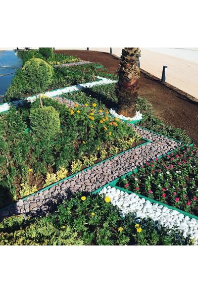 Ekoplas Plastik Çim Sınırlayıcı Düz Yapıda 25 mt Yeşil