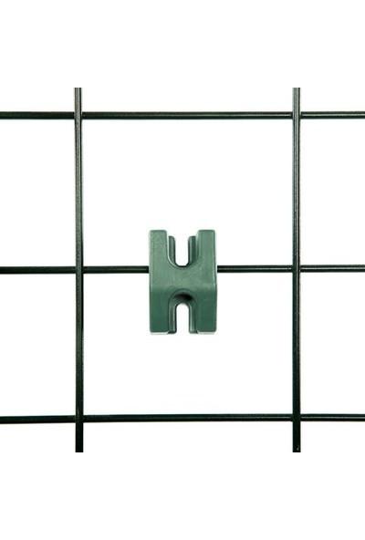 Ekoplas Duvar Saksı Asma Teli Yeşil Renk + Montaj Aparatları