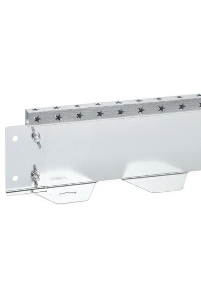 Ekoplas Çim Sınırlayıcı LED Takılabilir 12.5 cm Yıldız Desenli Düz Yapıda 12 mt