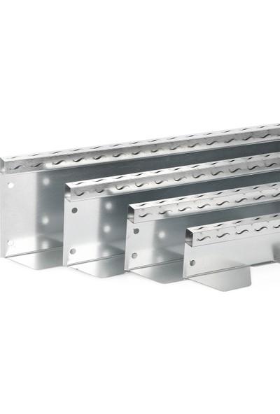 Ekoplas Çim Sınırlayıcı LED Takılabilir 15 cm Dalga Desenli Düz Yapıda 12 mt