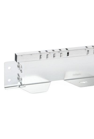 Ekoplas Çim Sınırlayıcı LED Takılabilir 7,5 cm Dikdörtgen Desenli Düz Yapıda 12 mt