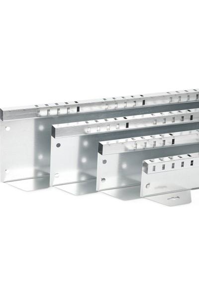 Ekoplas Çim Sınırlayıcı LED Takılabilir 12.5 cm Dikdörtgen Desenli Düz Yapıda 12 mt
