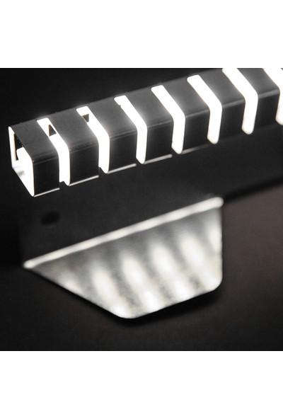 Ekoplas Çim Sınırlayıcı LED Takılabilir 7.5 cm Çizgi Desenli Esnek Yapıda 12 mt