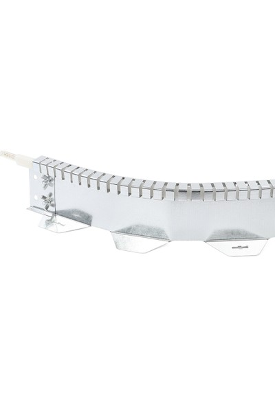 Ekoplas Çim Sınırlayıcı LED Takılabilir 10 cm Çizgi Desenli Esnek Yapıda 12 mt