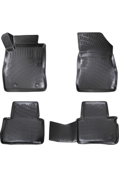 Rizline Nissan Juke 2010-2020 3D Havuzlu Paspas Siyah