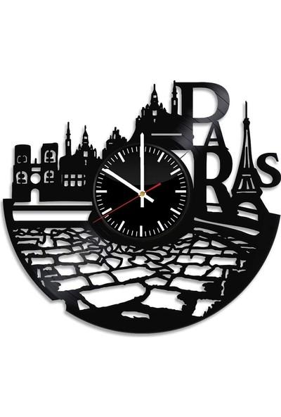 Nefes Paris Duvar Saati Mdf (Ahşap) 40X40
