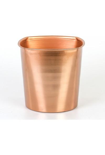 Euro Flora Metal Kova Çiçeklik 19,5X19,5 cm