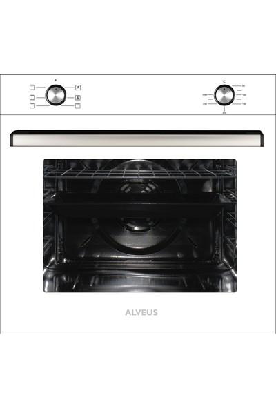 Alveus Cloud 604 Beyaz 3'lü Ankastre Set ( Gls 640 + Mfa 604 + F4 Ecr Aspiratör)