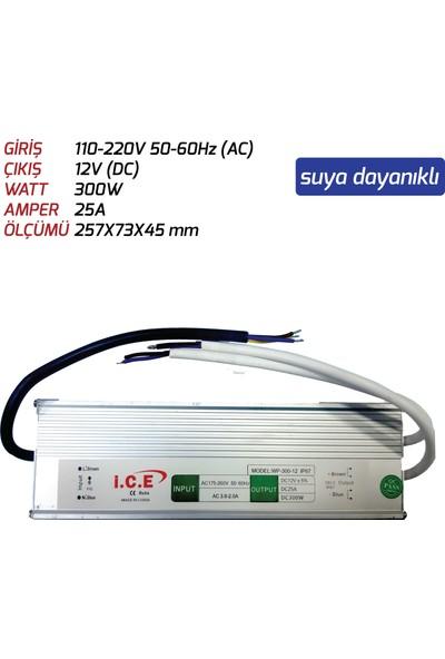 LED Trafosu (300W) 12V Suya Dayanıklı